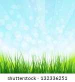 spring background | Shutterstock .eps vector #132336251