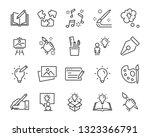 set of creative icons   such as ... | Shutterstock .eps vector #1323366791