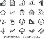 bold stroke vector icon set  ... | Shutterstock .eps vector #1323402167