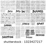 doodle vector illustration big... | Shutterstock .eps vector #1323427217