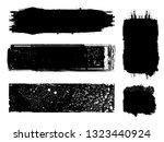 grunge paint roller . vector... | Shutterstock .eps vector #1323440924