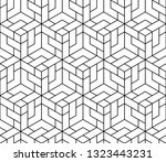 the geometric pattern with... | Shutterstock .eps vector #1323443231