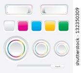web design | Shutterstock .eps vector #132350309