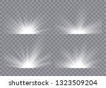 light effect stars bursts....   Shutterstock .eps vector #1323509204