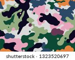 Seamless Funky Camouflage...