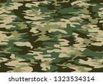 camouflage seamless pattern... | Shutterstock .eps vector #1323534314
