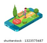 running woman. mobile app for...