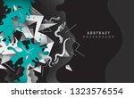 abstract wallpaper design in... | Shutterstock .eps vector #1323576554