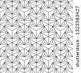 vector seamless polygonal... | Shutterstock .eps vector #1323583427