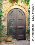 Ancient Wooden Entrance Doors...