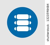 ribs icon. editable  ribs icon ...   Shutterstock .eps vector #1323598484