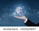 business networking and...   Shutterstock . vector #1323620657