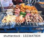 street food in thailand   Shutterstock . vector #1323647834