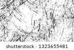 dry brush strokes and scratches ... | Shutterstock .eps vector #1323655481