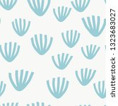 seamless pattern with modern... | Shutterstock .eps vector #1323683027