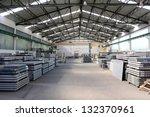 granite storage   warehouse  ... | Shutterstock . vector #132370961