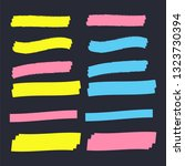 vector highlighter elements.... | Shutterstock .eps vector #1323730394