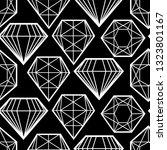 vector seamless pattern from... | Shutterstock .eps vector #1323801167