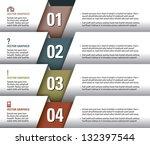 modern vector design template.... | Shutterstock .eps vector #132397544
