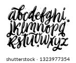 hand lettering and typographic... | Shutterstock .eps vector #1323977354