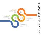 infographic design template... | Shutterstock .eps vector #1323984011