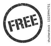 free black round stamp | Shutterstock .eps vector #1323994751