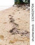 ruins of gabion   mattress... | Shutterstock . vector #1324029704