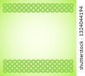 light green saint patrick's day ... | Shutterstock .eps vector #1324044194