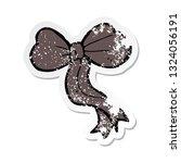 retro distressed sticker of a... | Shutterstock .eps vector #1324056191