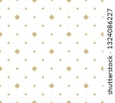 golden vector seamless pattern... | Shutterstock .eps vector #1324086227
