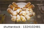 the cream filled tube cakes | Shutterstock . vector #1324102481