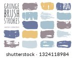 paint lines grunge collection.... | Shutterstock .eps vector #1324118984