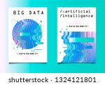 set of two posters for ai ... | Shutterstock .eps vector #1324121801