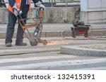 urban worker | Shutterstock . vector #132415391