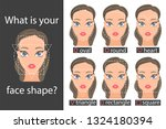 different types of face people. ... | Shutterstock .eps vector #1324180394