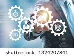 business process management and ... | Shutterstock . vector #1324207841