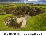 skara brae was inhabited for...   Shutterstock . vector #1324225301