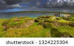 skara brae was inhabited for...   Shutterstock . vector #1324225304