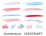 colored backgrounds with array... | Shutterstock .eps vector #1324234697