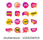 sale banner templates design.... | Shutterstock .eps vector #1324236914