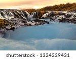 scenic view of bruarfoss...   Shutterstock . vector #1324239431
