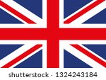 united kingdom flags | Shutterstock .eps vector #1324243184