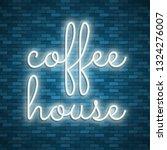 neon light lettering  stock... | Shutterstock .eps vector #1324276007