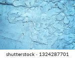 grunge blue painted rough... | Shutterstock . vector #1324287701