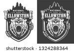 yellowstone national park... | Shutterstock .eps vector #1324288364