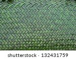 Green Weave Background