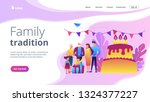 parents  grandparents and...   Shutterstock .eps vector #1324377227