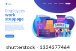 tiny people crowd of workers... | Shutterstock .eps vector #1324377464