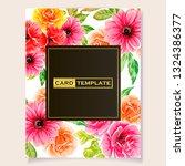 romantic wedding invitation...   Shutterstock .eps vector #1324386377