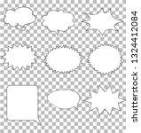 comic speech bubbles on... | Shutterstock .eps vector #1324412084